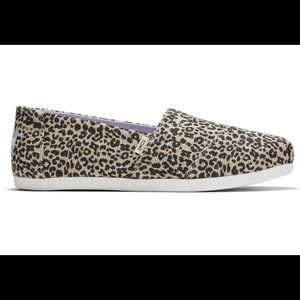 Toms classic baby cheetah heritage canvas